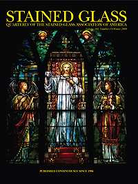 The Winter 2009 issue of The Stained Glass Quarterly