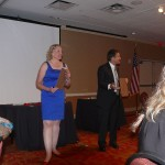 Image from Steve Sussman's magic presentation at the Awards Banquet.