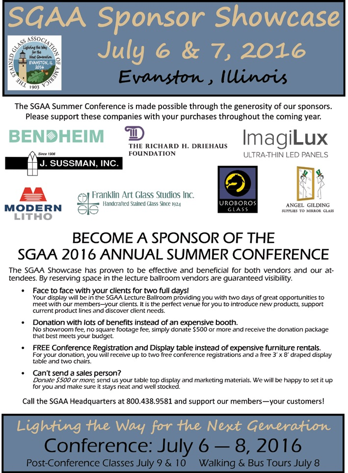Become a Conference Sponsor