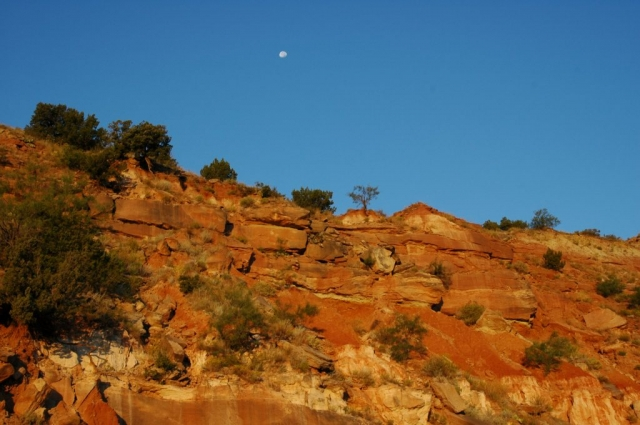 Palo Duro Canyon is the second largest Canyon in the US.